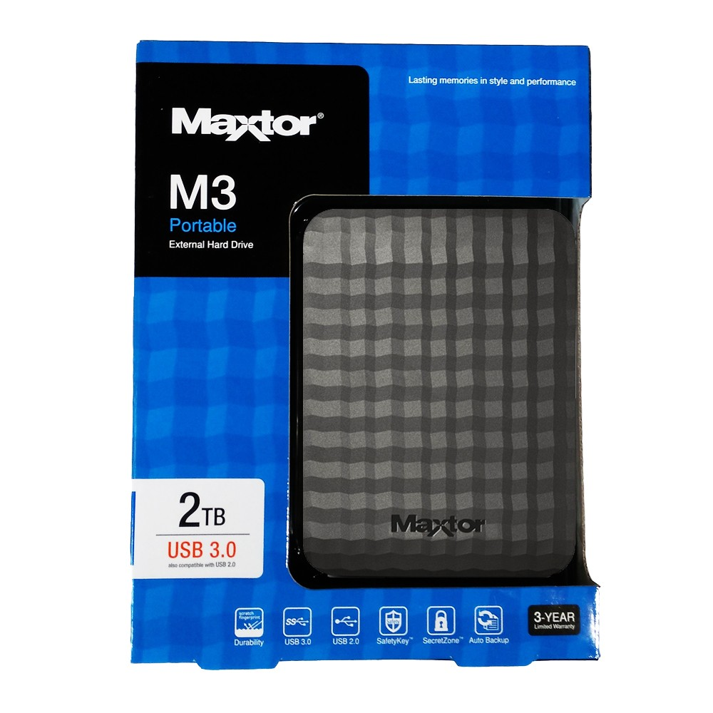 HDD MAXTOR M3 2.5″ 2TB USB3